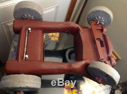 Vintage 1970's AMF Flintstones Flintmobile Pedal Car