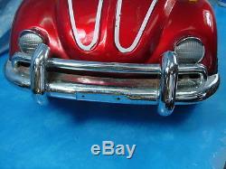 Vintage 1970's Junior Sportsters VW Bug Kiddie Pedal Car Volkswagon VW