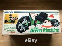 Vintage 1976 Marx Green Machine Sealed In Box Wow