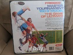 Vintage 1981 Wham-O Frisbee Flying Disc Black Master Tournament 150 G MIB Clean