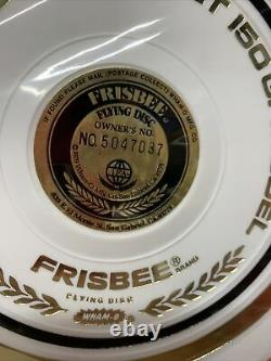 Vintage 1981 Wham-O Frisbee Flying Disc White Master Tournament 150 G Model NEW