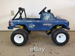 Vintage 1986 Power Wheels Bigfoot Big Foot Ford 4x4x4 Monster Truck Ride On Toy