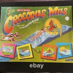 Vintage 1987 Marchon Crocodile Mile Water Slide Boomerang Bump Splash Pool