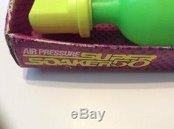 Vintage 1990 Larami Air Pressure Super Soaker 50 NIB Water Squirt Gun RARE