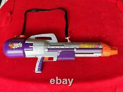 Vintage 1990s LARAMI SUPER SOAKER CPS 2000 Purple With Strap
