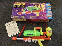 Vintage 1990s Larami Super Soaker 2000 Vintage Retro Water Blaster Boxed NM