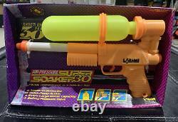 Vintage 1990s Larami Super Soaker 30 Air Pressure Pump Water Gun -NEW OLD STOCK
