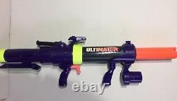 Vintage 1994 Mattel Nerf ULTIMATOR Bazooka Rocket Toy Gun Blaster 1 Rocket Rare