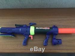 Vintage 1994 Mattel Nerf Ultimator Blaster Bazooka Rocket Missile Launcher- HTF