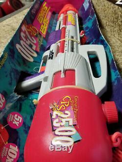 Vintage 1997 New in Box Larami Super Soaker CPS 2500 Water Gun