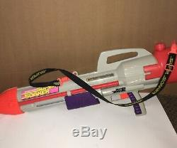 Vintage 1997 Super Soaker Larami CPS 2500 Squirt Water Gun With Shoulder Strap