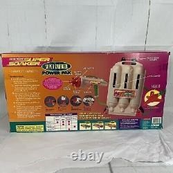 Vintage 1998 Larami Super Soaker Charger Power Pak Water Squirt Gun Backpack