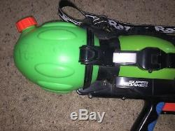 Vintage 1999 Super Soaker Monster X Super Charger 36 Water Gun Larami TESTED