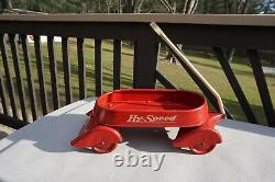 Vintage 40's / 50s AirFlow Hy Speed Wagon with Original Paint