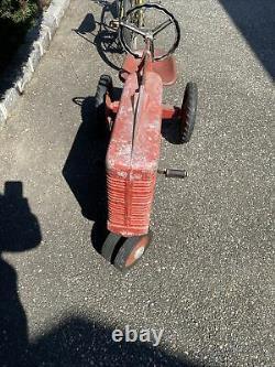 Vintage 50s ESKA 1950 IH Farmall Pedal Tractor