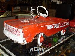 Vintage 50s Studebaker Pedal Car No Reserve