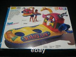 Vintage 90's 1994 AQUA-Leisure Noah's Ark Animal Float Swim Pool 2-Kid Floatie