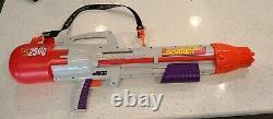 Vintage 90s Larami Super Soaker CPS 2500 Large Water Gun Strap good pressure