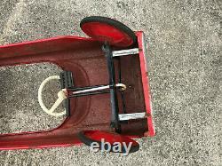 Vintage AMF Fire Chief Car No. 503 Pedal Car