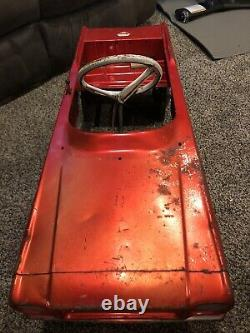 Vintage AMF Ford Mustang Pedal Car