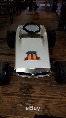 Vintage AMF Indy Jr Pedal Car RARE