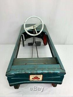 Vintage AMF Jet Sweep Toy Peddle Car