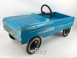 Vintage AMF Pacer Pedal Car, Blue