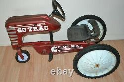 Vintage AMF Power Trac 537 Pedal Tractor Car Power Trac Chain Drive