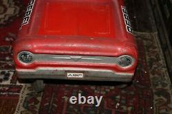 Vintage AMF REBEL Peddle Car 1960's Original Works