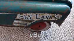 Vintage AMF Sky Lark pedal car