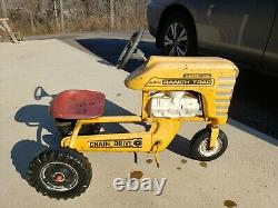 Vintage AMF Turbo 502 Ranch Trac 502 Pedal Tractor Chain Drive