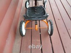 Vintage AMF Turbo 517 Trac Chain Drive Toy Peddle Tractor