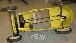 Vintage All Original 50's Era Bmc 8 Ball Midget Racer With Factory Header Nice
