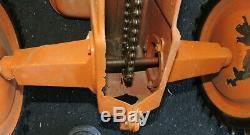 Vintage Allis Chalmers Child's Pedal Tractor Ertl A-64