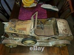 Vintage American National Pressed steel Packard