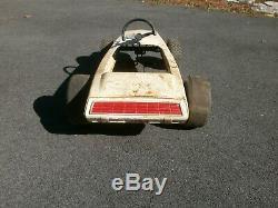 Vintage Amf Indy Jr. Pedal Race Car Toy
