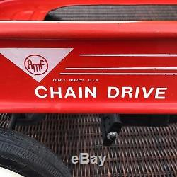 Vintage Amf Junior 10x Chain Drive Pedal Wagon Olney Illinois