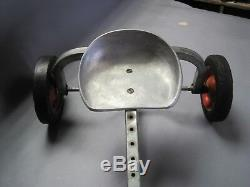 Vintage Angeles Nursery Toys Lever Pump Quadracycle Scooter Trike Incredible