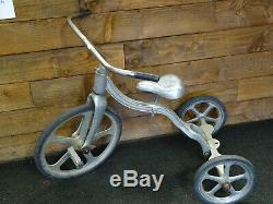 Vintage Anthony Brothers Aluminum Tricycle