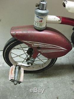 Vintage Antique Childs Tricycle AMF Junior Trike Unique USA