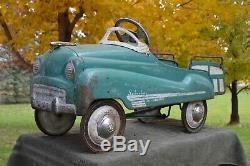 Vintage Antique Dipside Murray Suburban Pedal Car 100% Original Antique Pedal Ca