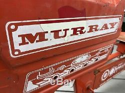 Vintage Antique Murray Chain Drive Transmission Pedal Tractor