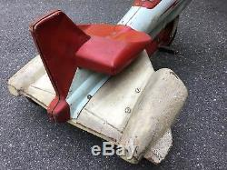 Vintage Antique Murray Super Sonic Jet Chain Drive Pedal Car