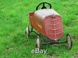 Vintage Antique Pedal Car 1920s
