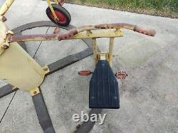 Vintage Antique Playground Equipment Pedal Go Cycle Merry go Round bicycle