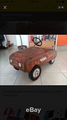 Vintage Apache Pedal Car Antique From Mexico Acapulco