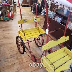Vintage Art Linkletter Gym Dandy peddle surrey