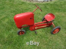 Vintage BMC Heavy Duty Tractor Pedal Car SENIOR Rare Model LOCAL PICK-UP
