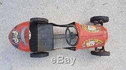 Vintage BMC Special 8 Rare Pedal Car