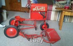 Vintage BMC Tracor Junior Pedal Tractor